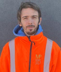 Serre-Johan employé MP3D